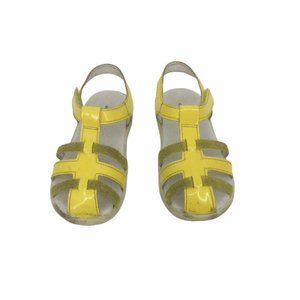 Wizz by Naturino Girls Yellow Holly Sandal Sz 7.5